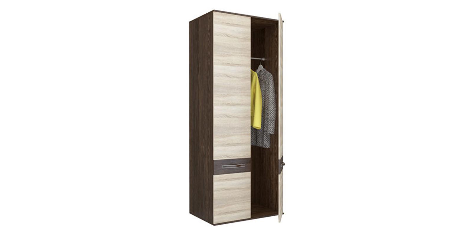 Шкаф распашной двухдверный Сапфир (дуб кантерберри/дуб сонома)