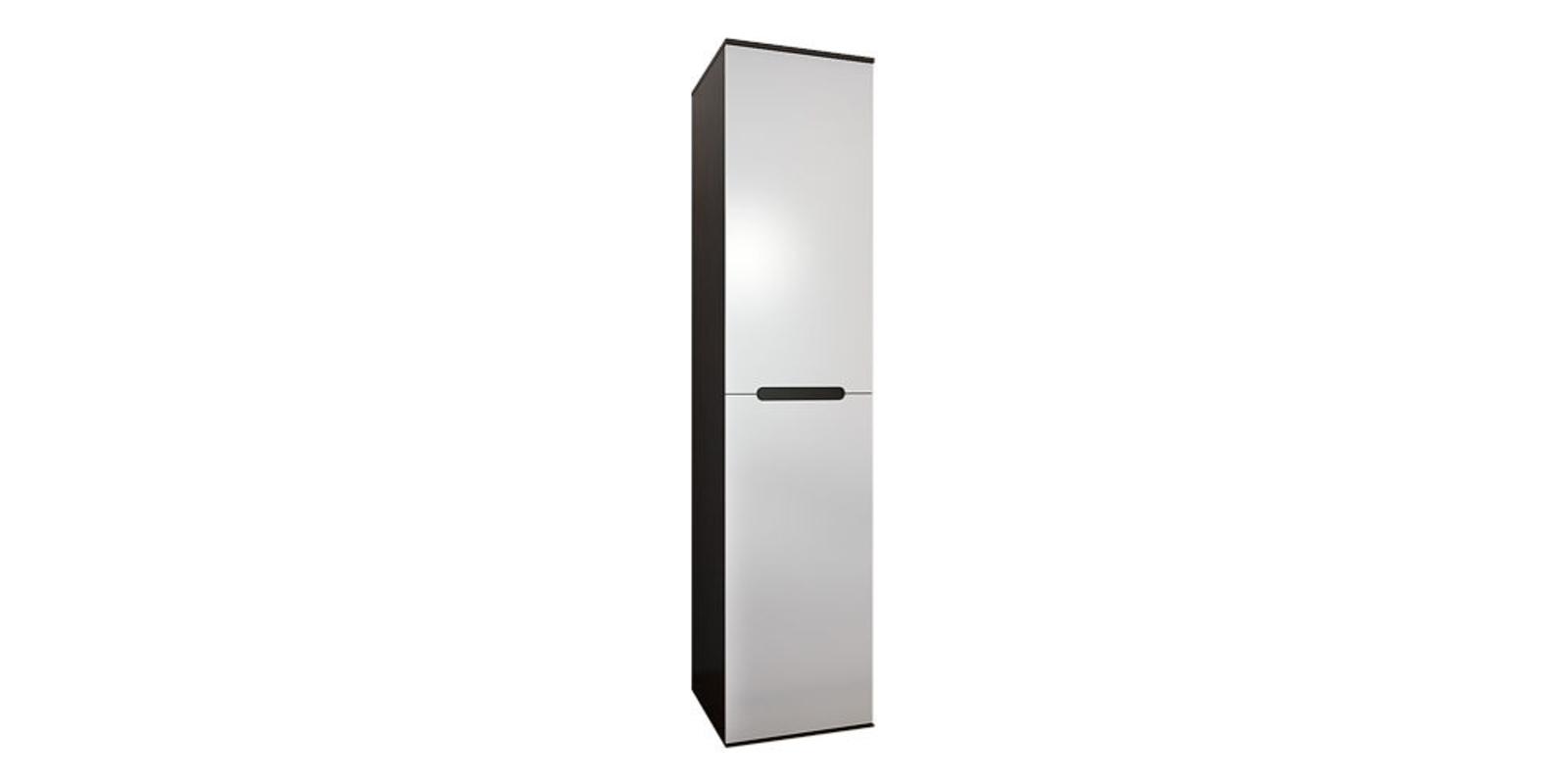 Шкаф распашной однодверный Виго (венге/белый глянец)