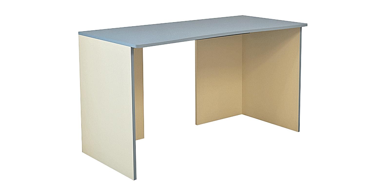 Стол письменный Нова 150 см (бежевый/голубой)