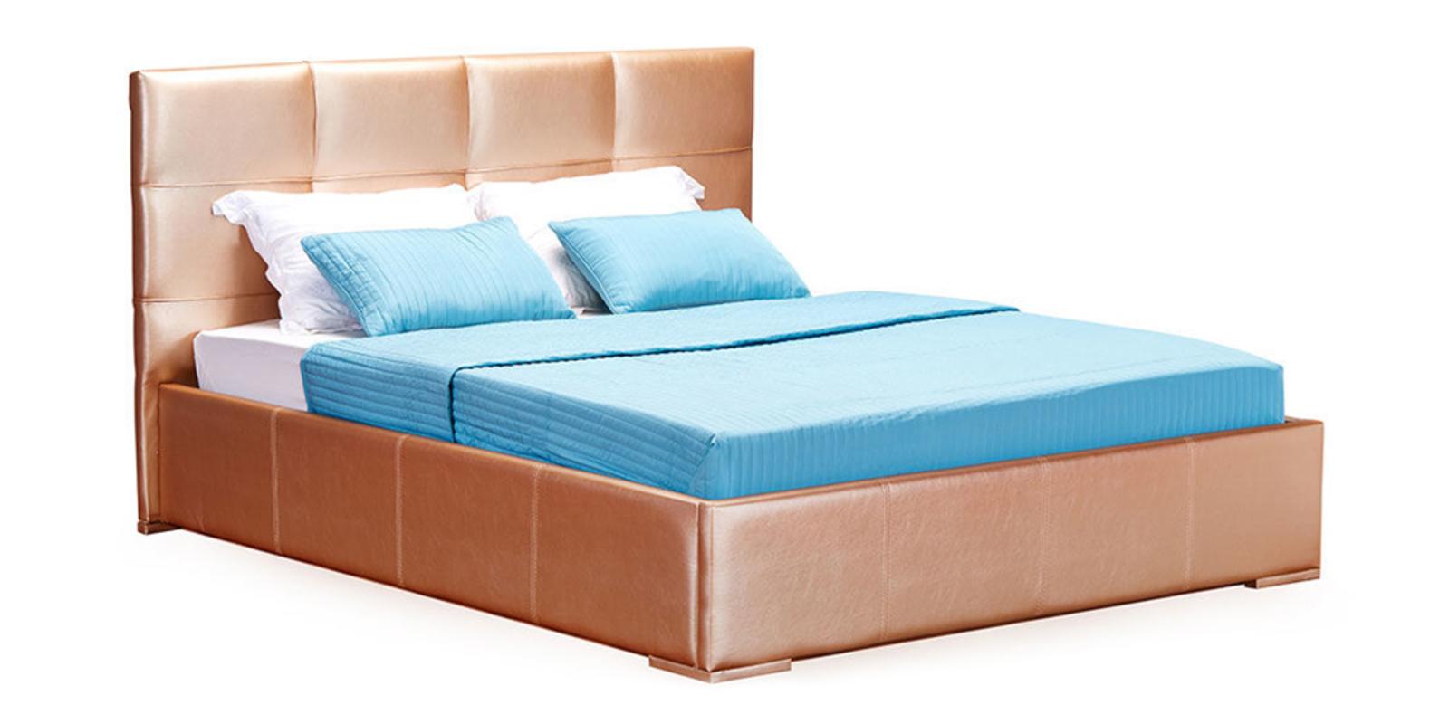 Кровать мягкая Лайф с подъемным механизмом (Золото)
