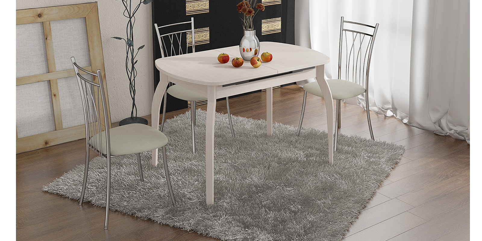 Стол обеденный HomeMe Квартет AEF0169000