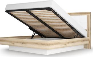 Кровать - 5 с подъемным ортопедическим основанием 1400 Вега Скандинавия