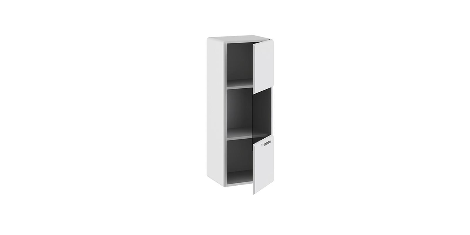 Шкаф навесной Сорренто (белый глянец) от HomeMe.ru