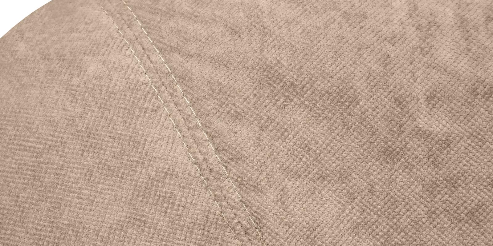 Диван тканевый угловой Ланкастер Savoy темно-бежевый (Флок, левый)