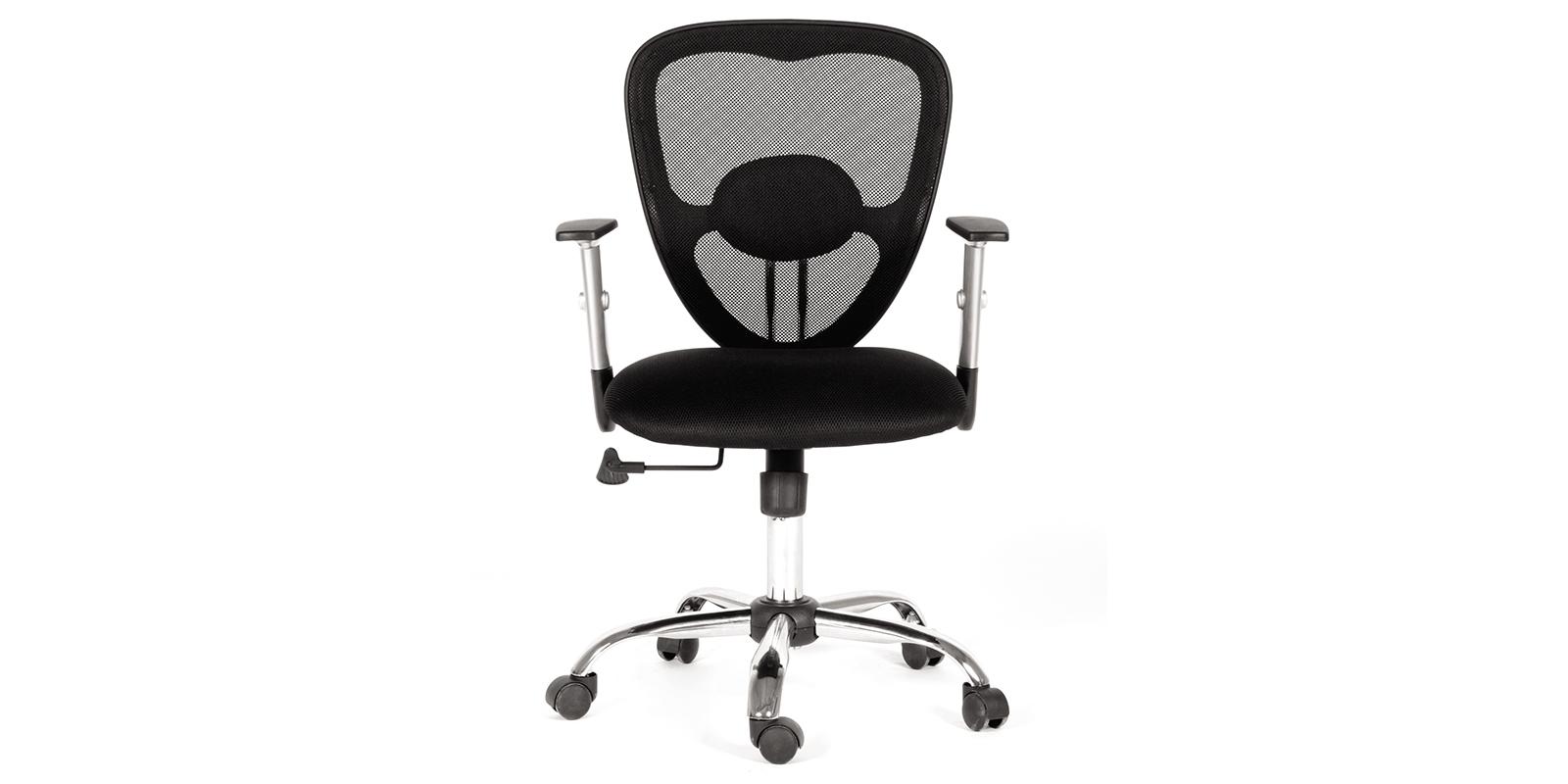 Кресло для оператора Chairman 451 (черный) от HomeMe.ru