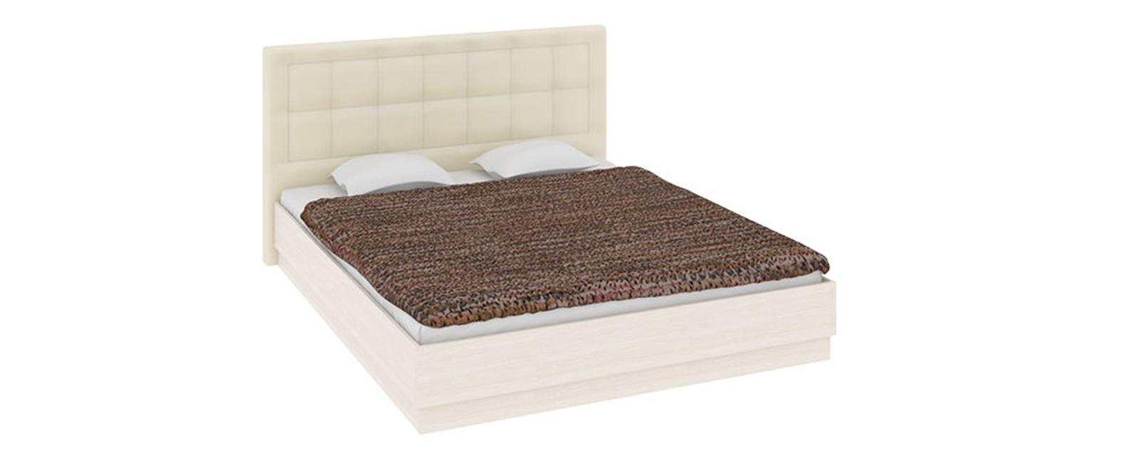 Кровать каркасная Дельта с подъемным механизмом (Бежевый)