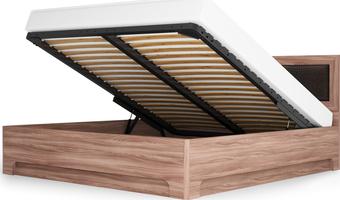 Кровать-1 с подъемным ортопедическим основанием 1400 Парма