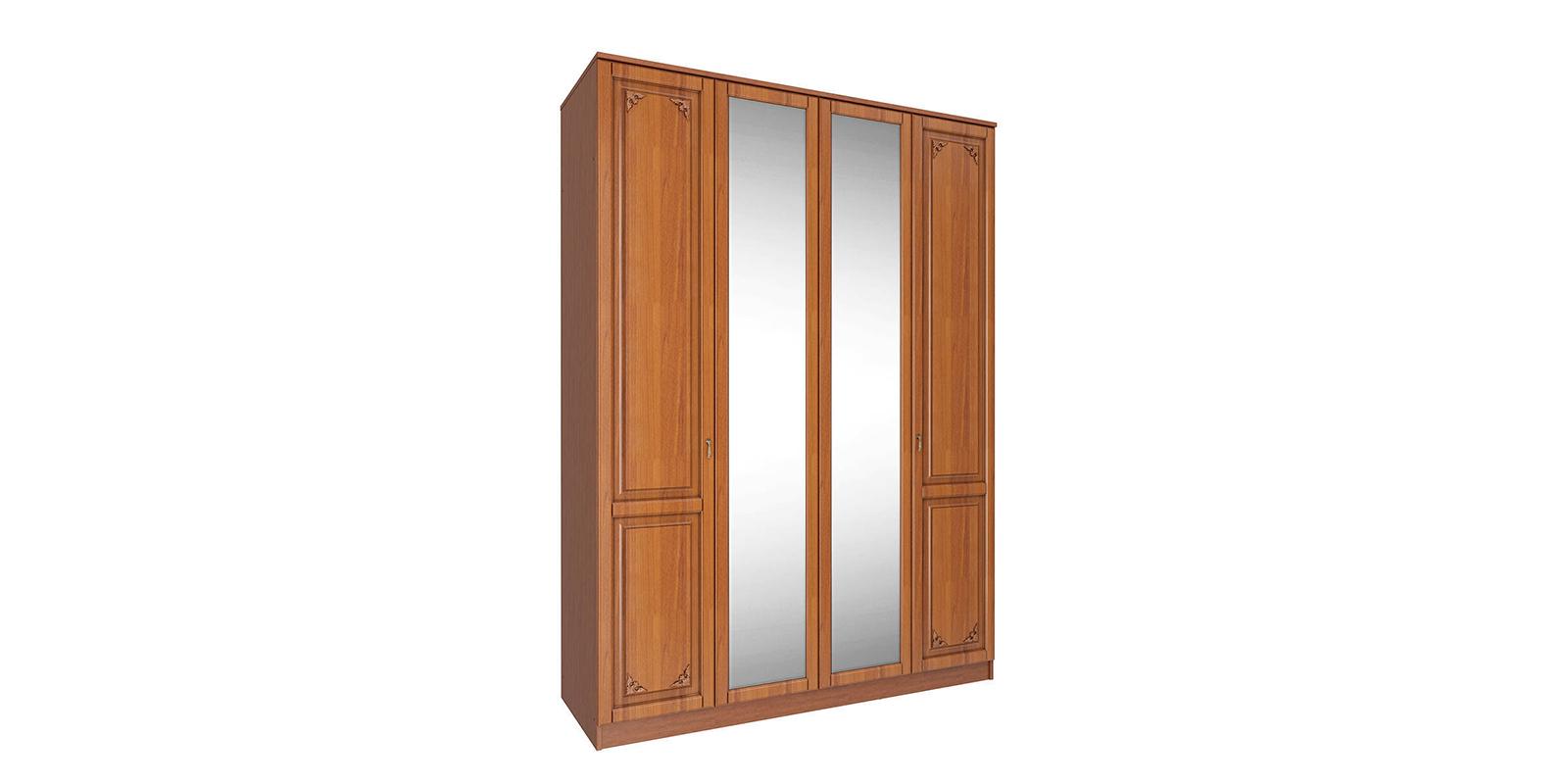 Шкаф распашной 4-х дверный Варна (итальянский орех)