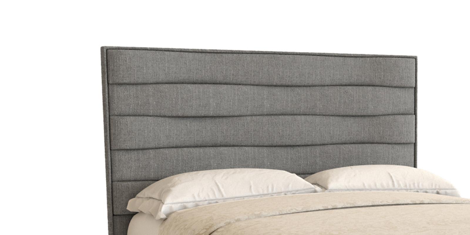 Мягкая кровать 200х180 Дана с ортопедическим основанием (серый)