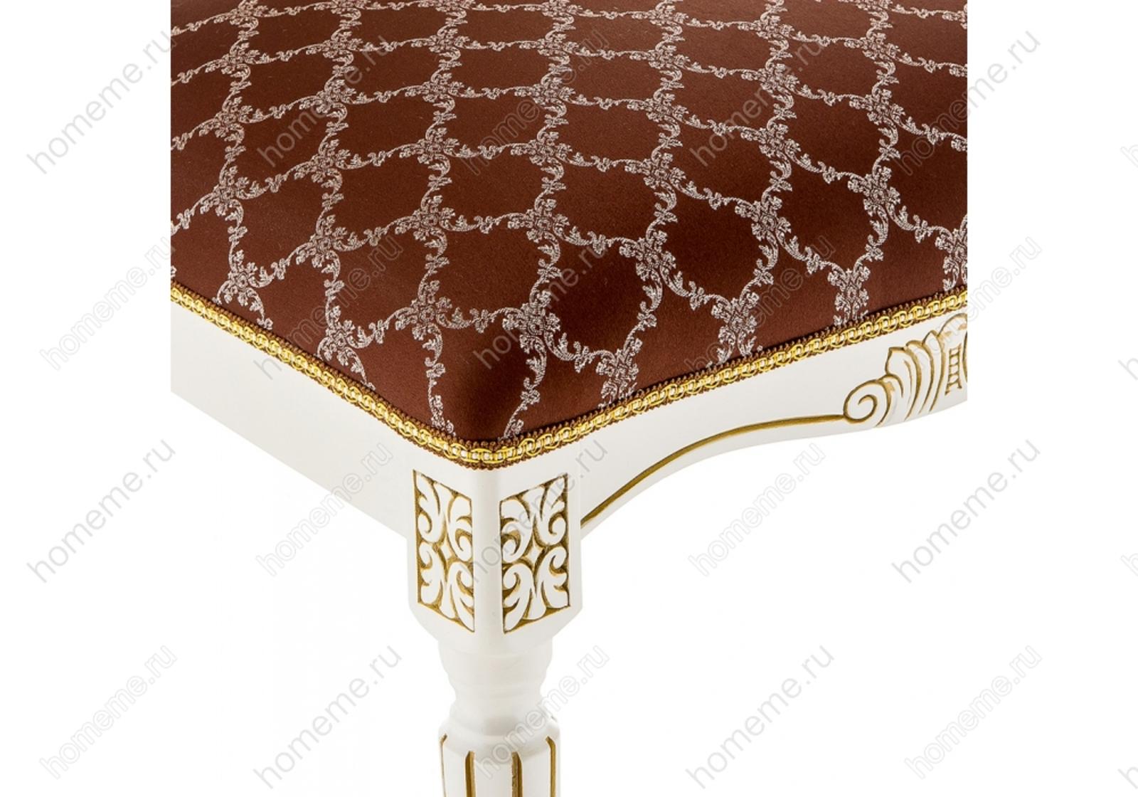 Стул деревянный Лино патина золото / шоколад 309310 Лино патина золото / шоколад 309310 (15328)