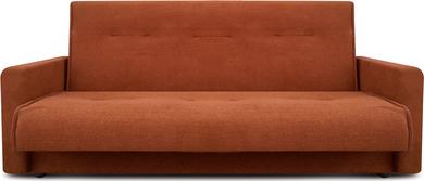 Диван Милан 140 коричневый ПБ