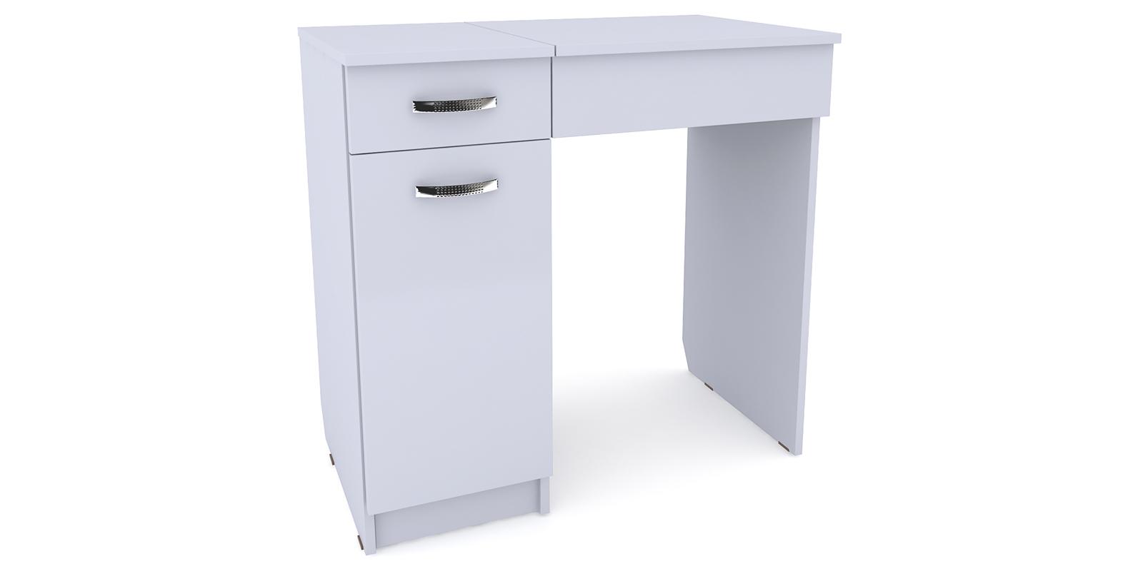 Столик туалетный Портофино вариант №3 левый (белый) от HomeMe.ru