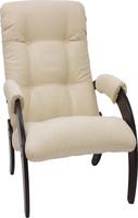 Кресло для отдыха Модель 61 Венге, ткань Verona Vanilla