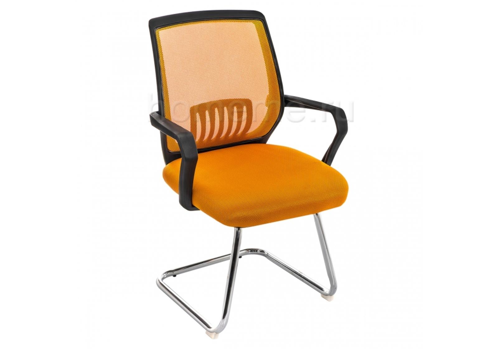 Стул Point оранжевый / черный 11520 Point оранжевый / черный 11520 (17475)