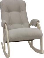 Кресло-качалка Модель 67 Дуб шампань, ткань Verona Light Grey