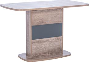 Стол раздвижной 80.540 Leset Мартин Дуб сакраменто/Антрацит