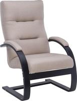 Кресло Leset Монэ Орех текстура, ткань Малмо 95
