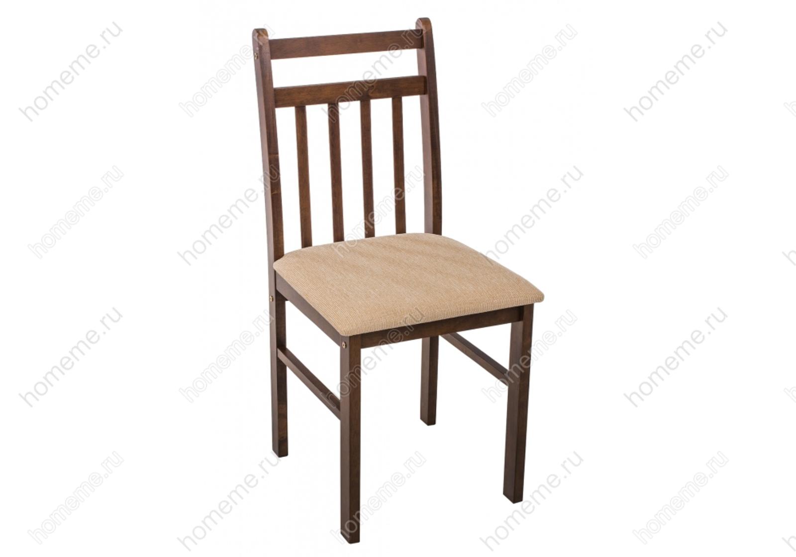 Обеденная группа Ludon стол и 4 стула, коричневый/бежевый (1848)