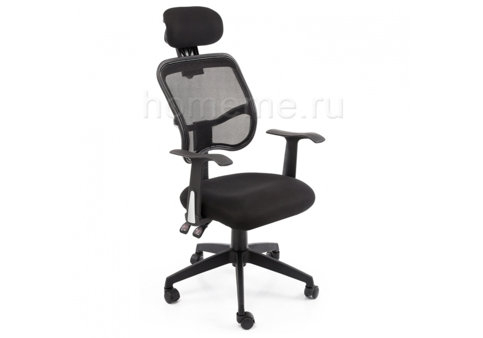 Кресло для офиса HomeMe Lody черное 1658 от Homeme.ru