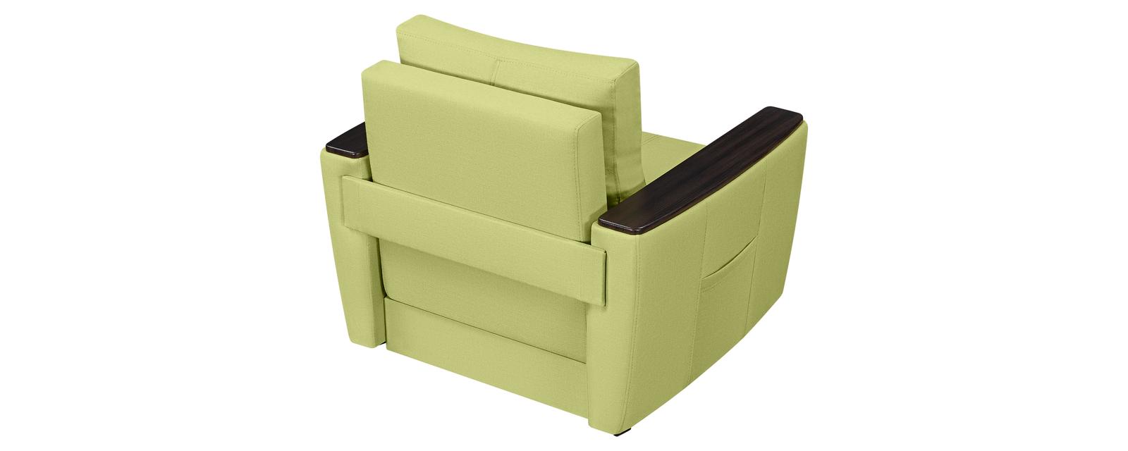 Кресло тканевое Майами Madagascar зеленый (Рогожка)