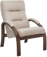 Кресло Leset Лион Орех текстура, ткань Малмо 05