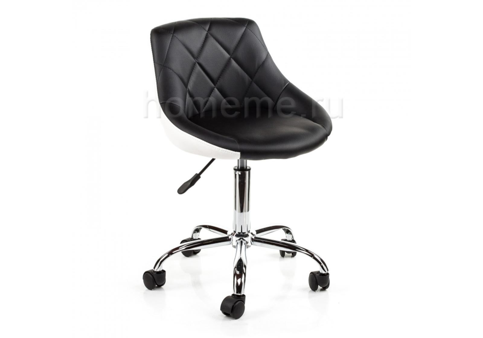 Кресло для офиса HomeMe Combi черный / белый 1559 от Homeme.ru