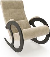 Кресло-качалка Модель 3 Венге, ткань Verona Vanilla