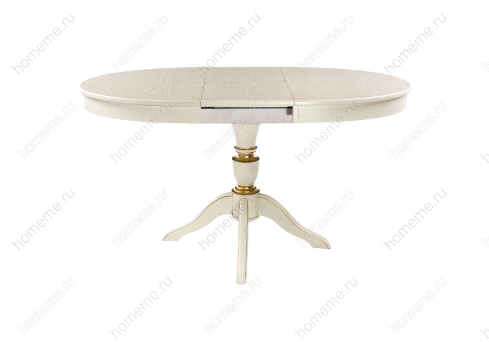 Стол деревянный Arno молочный 263658 263658