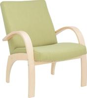 Кресло для отдыха Денди Натуральное дерево, ткань Melva 33