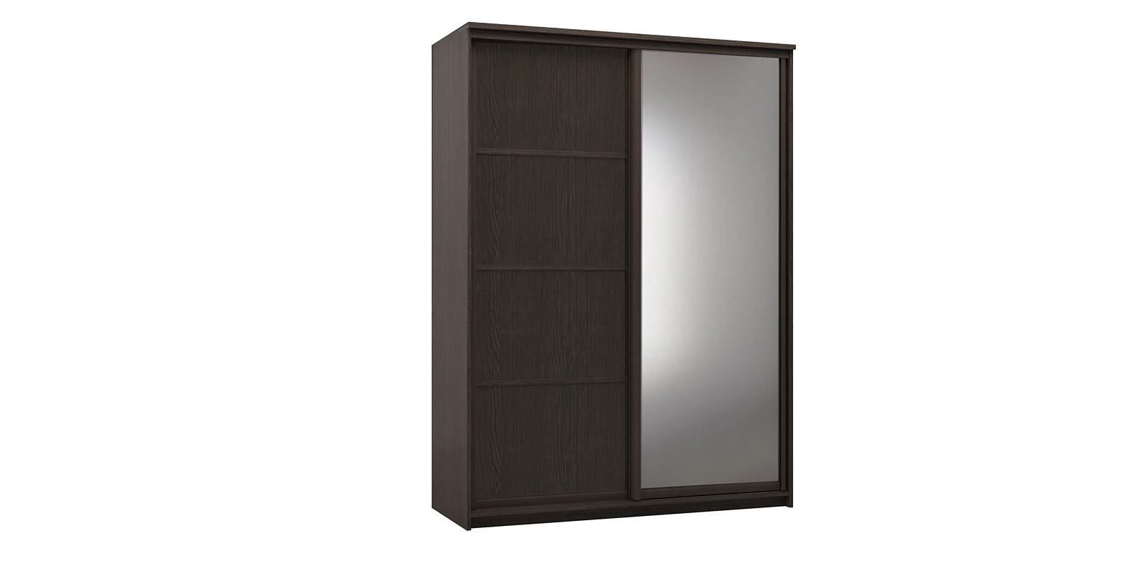 Шкаф-купе двухдверный Верона 180 см (венге/зеркало)