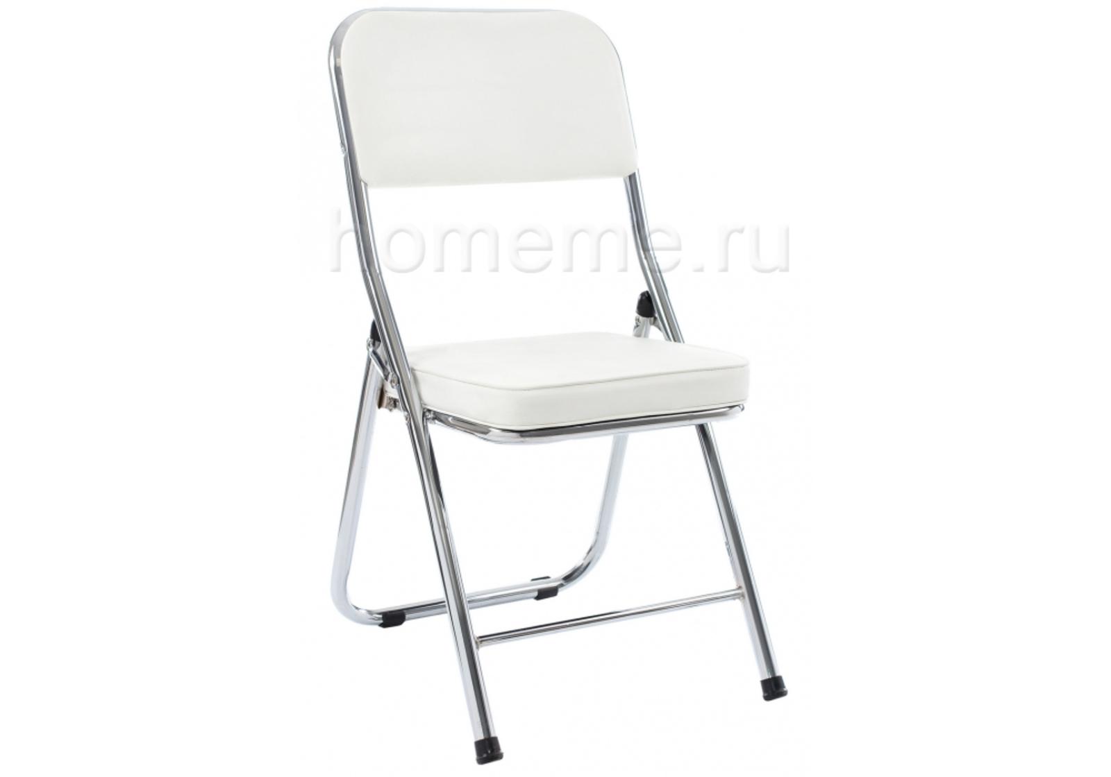 Стул HomeMe Стул Chair раскладной белый 11072 от Homeme.ru