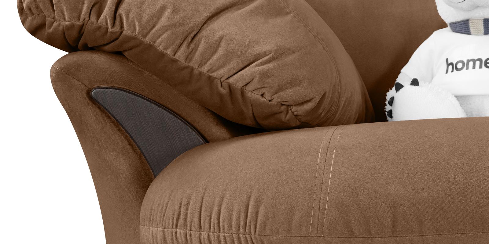 Кресло тканевое Ланкастер Velure коричневый (Велюр)
