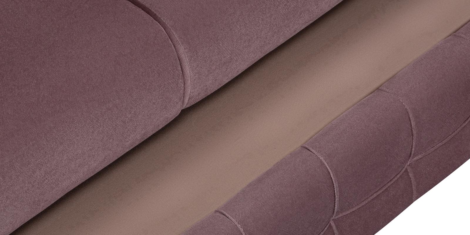 Диван тканевый угловой Николь Maserati розовый (Велюр)