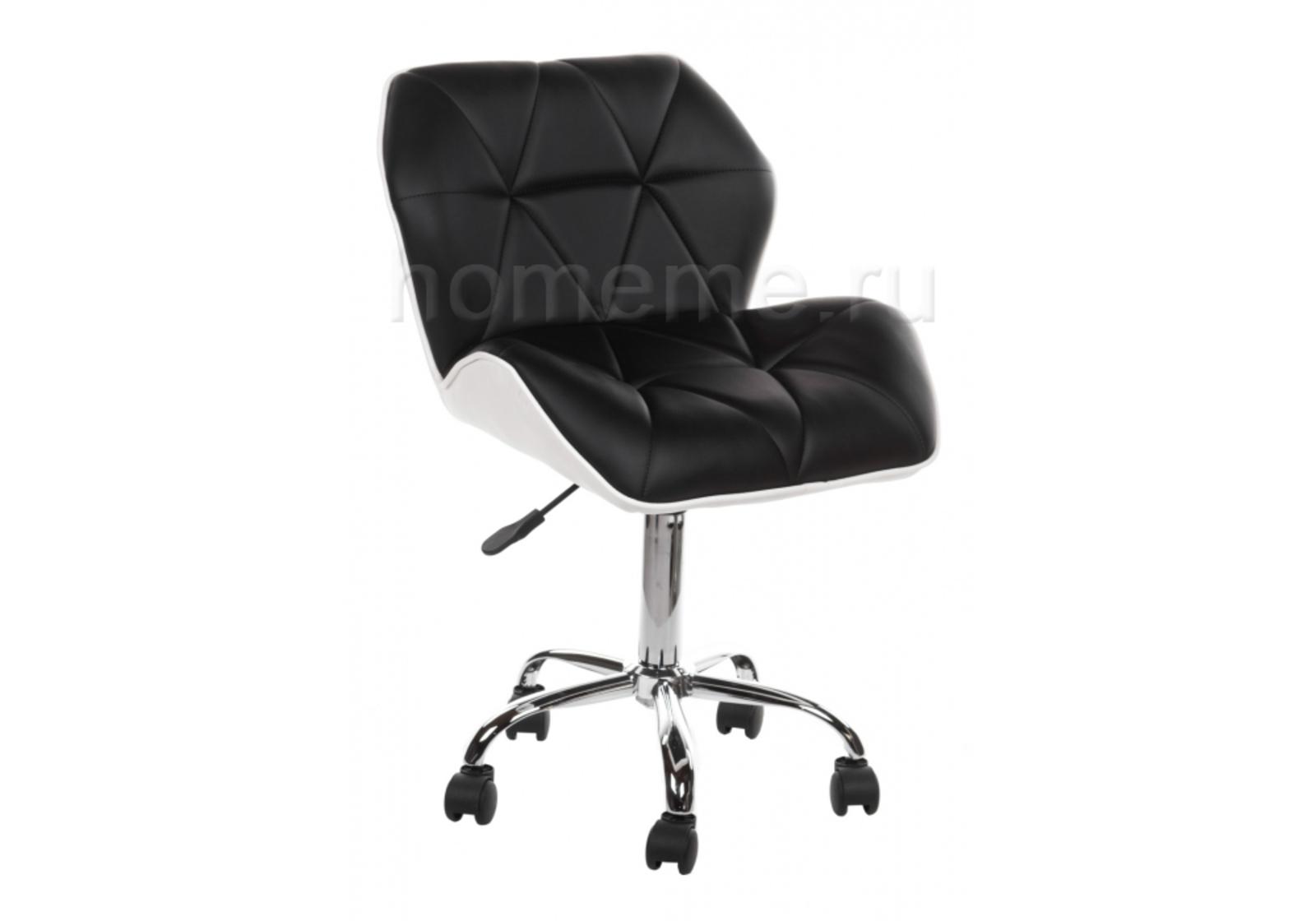 Кресло для офиса HomeMe Trizor черный / белый 1428 от Homeme.ru