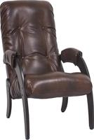 Кресло для отдыха Модель 61 Венге, к/з Antik crocodile