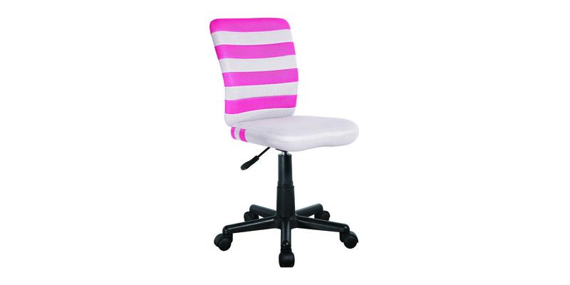 Детское кресло Lst9 (серый/розовый)