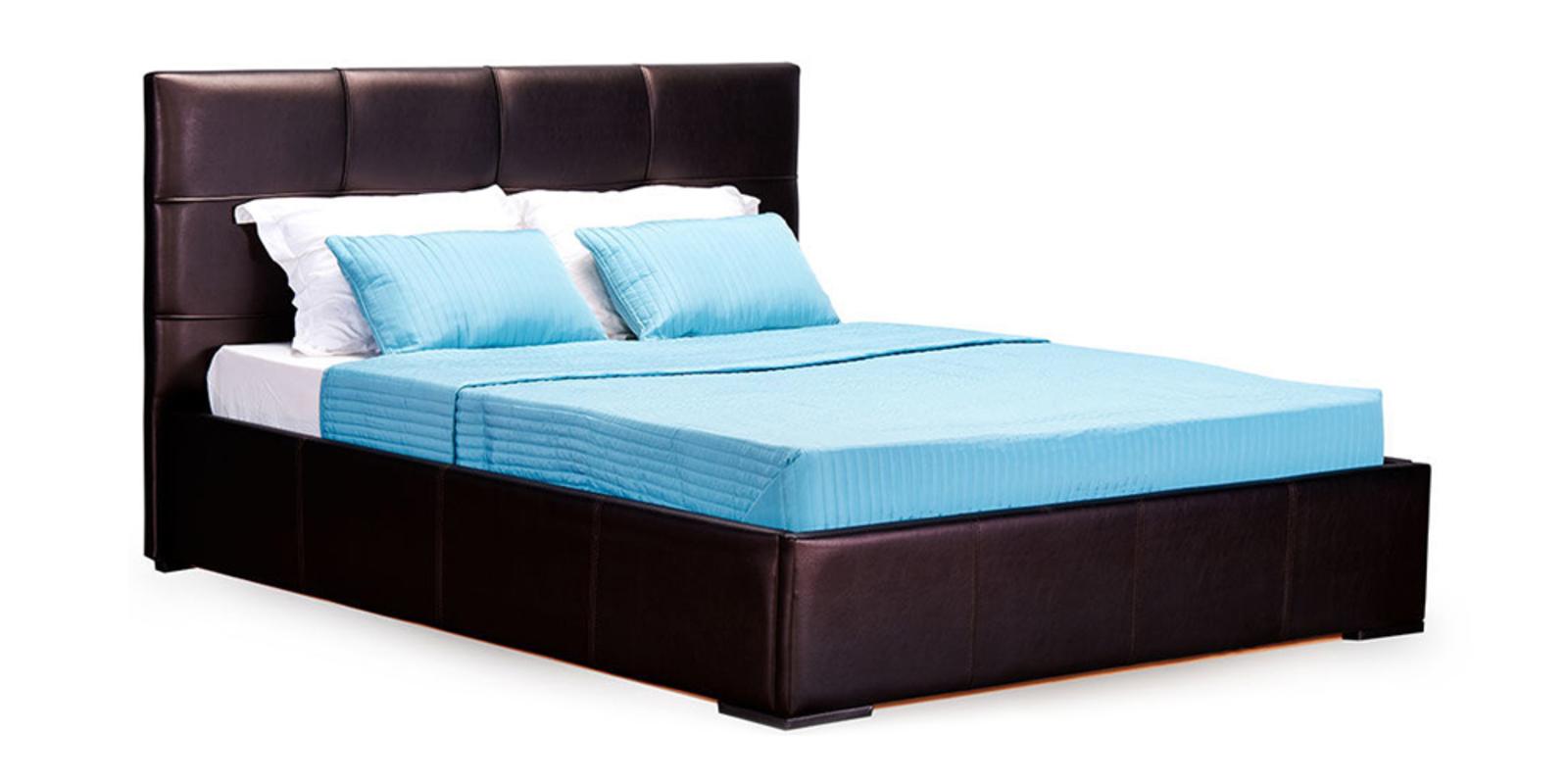 Кровать мягкая Лайф с подъемным механизмом (Шоколад)