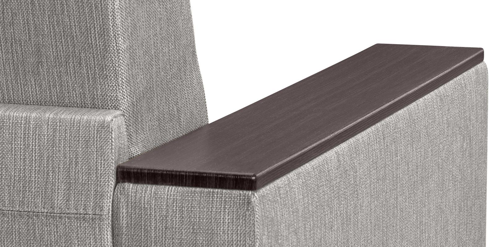 Кресло тканевое Атланта Madagascar серый (Рогожка)