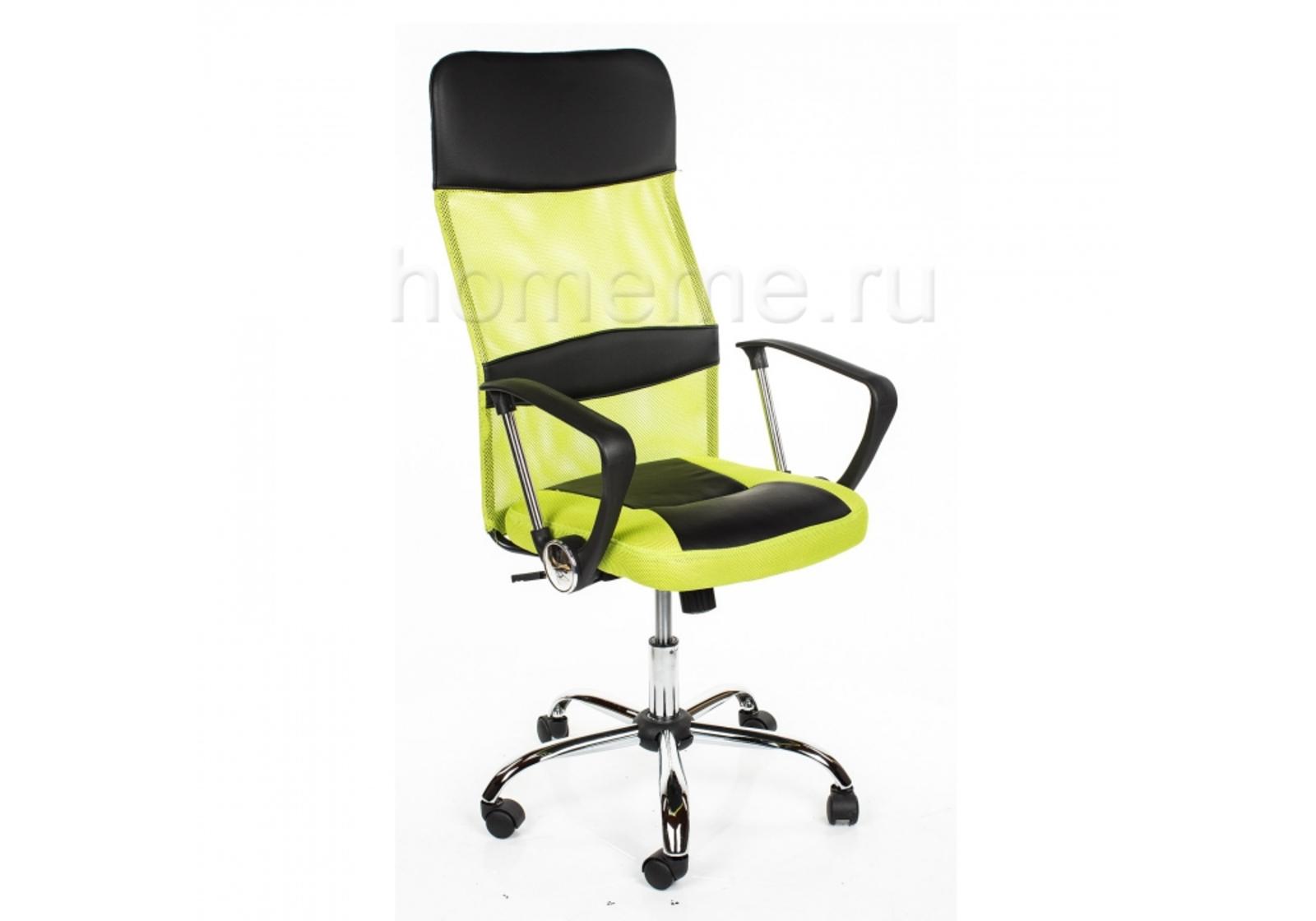 Кресло для офиса HomeMe ARANO зеленое 1488 от Homeme.ru