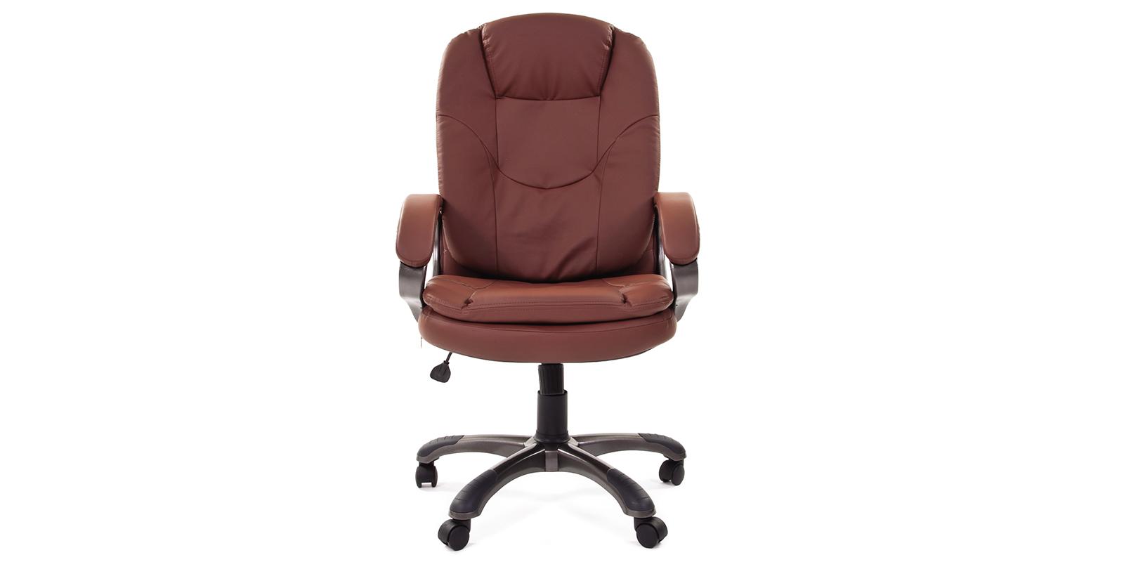 Кресло для руководителя Chairman 668 вариант №1 (коричневый) от HomeMe.ru
