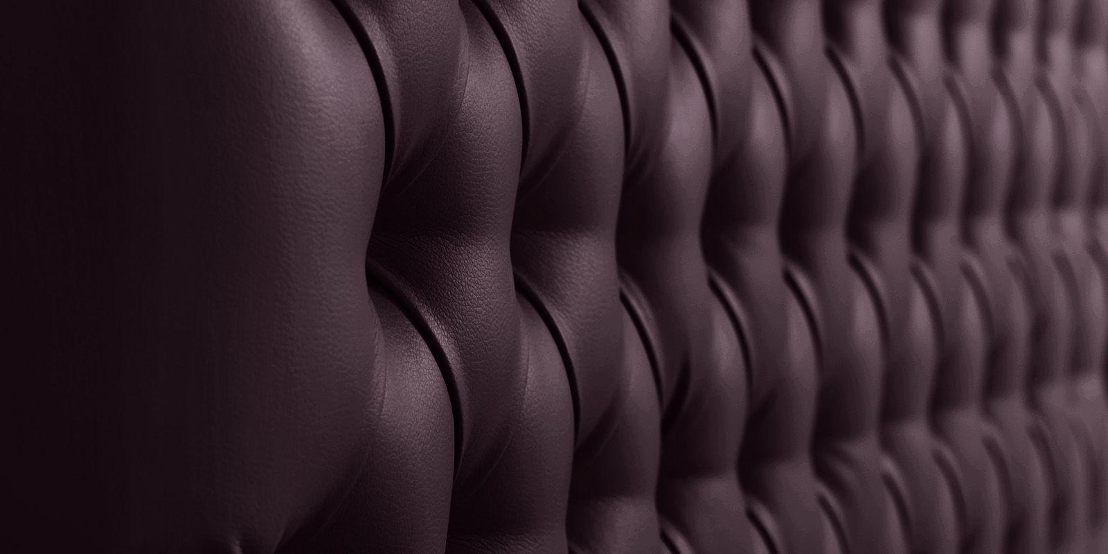 Мягкая кровать 200х160 Малибу вариант №4 с подъемным механизмом (Шоколад)