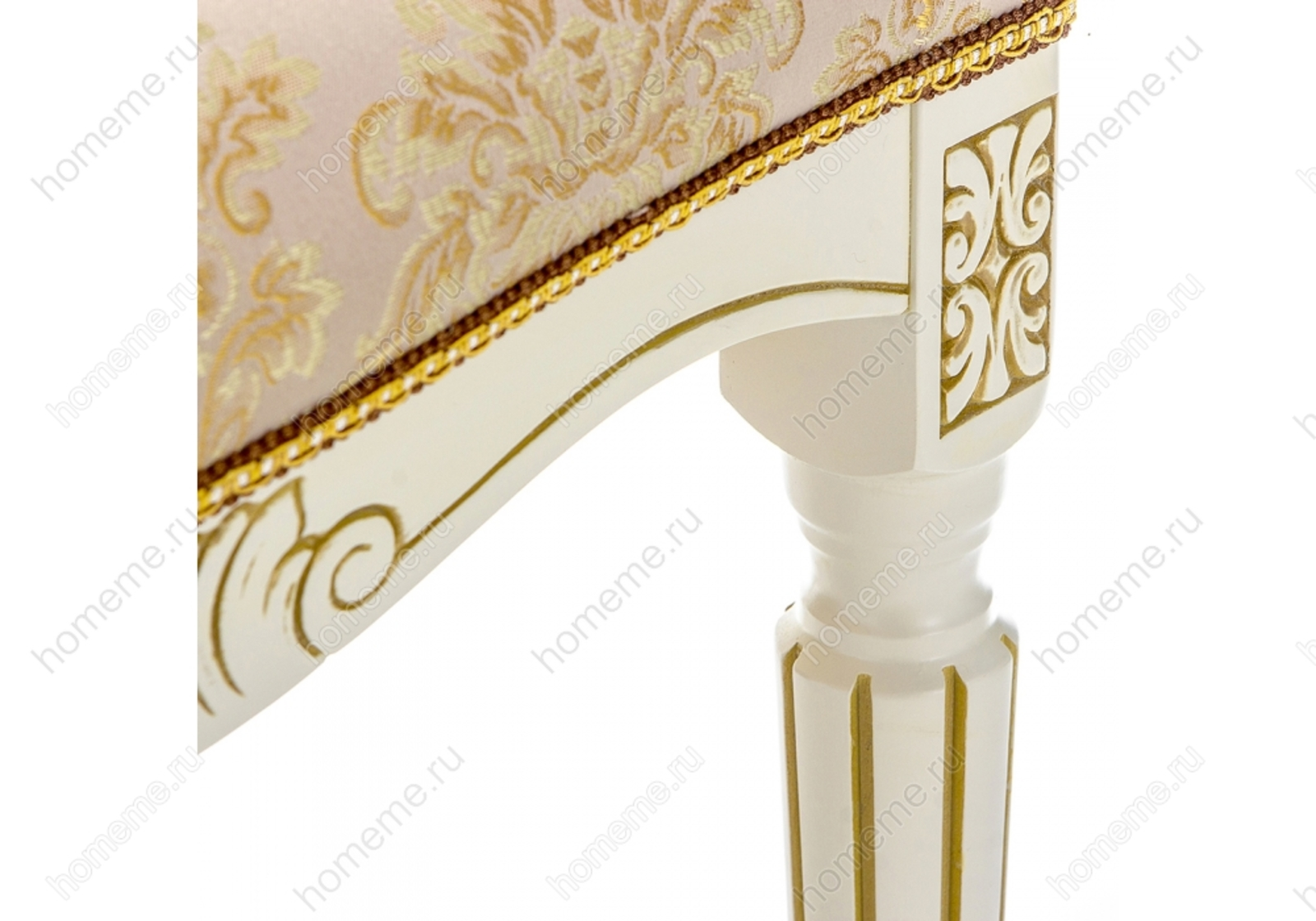 Стул деревянный Беттино патина золото / бежевый 309319 Беттино патина золото / бежевый 309319 (15886)