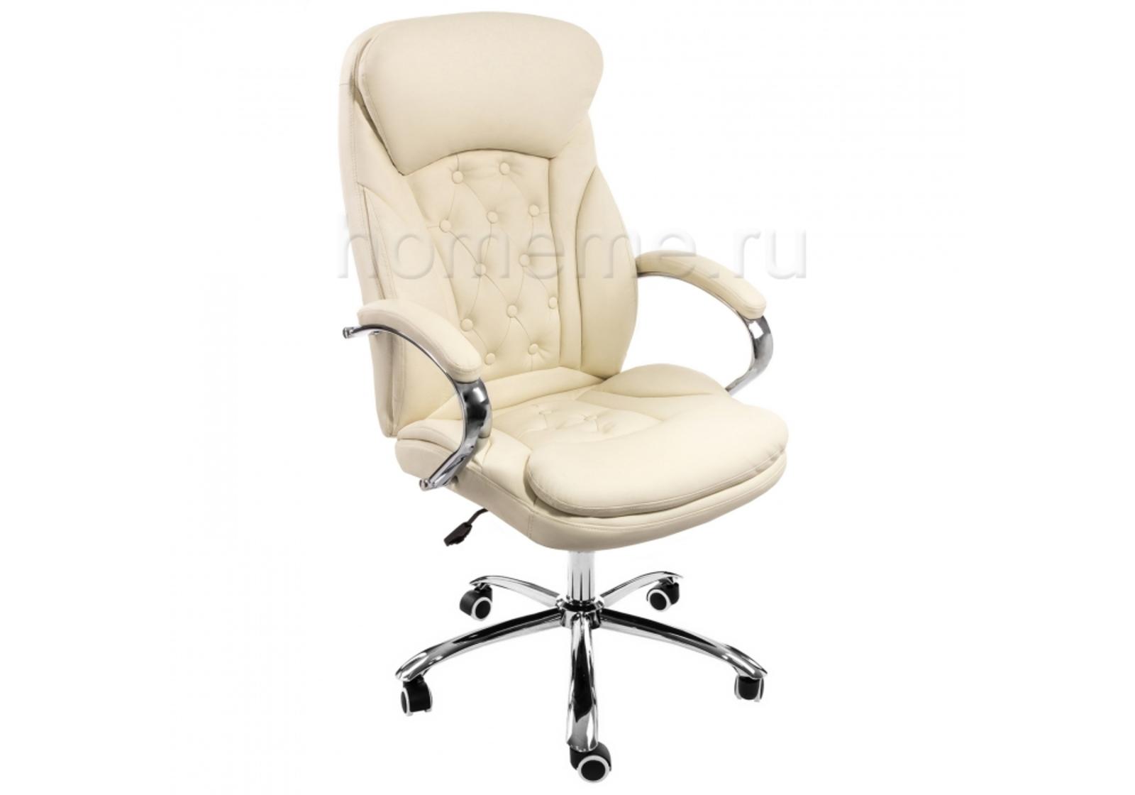 Кресло для офиса HomeMe Rich бежевое 1870 от Homeme.ru