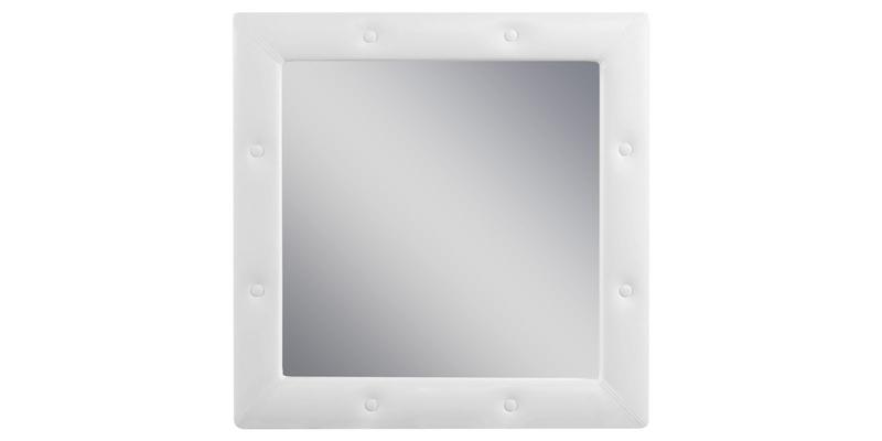 Зеркало настенное Малибу вариант №1 (Белый)