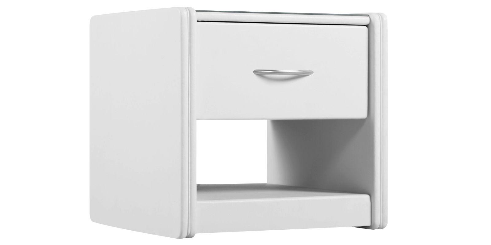 Тумба прикроватная Малибу вариант №2 (Белый)