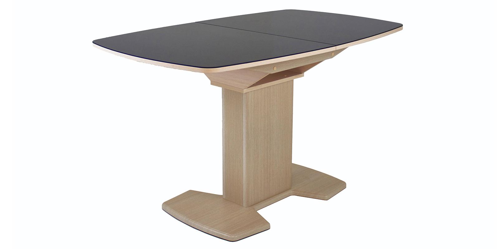 Обеденный стол Модена (дуб бежевый/шоколад)
