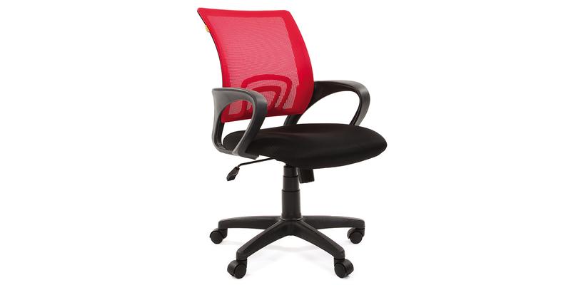 Кресло для оператора Chairman 696 (черный/красный)