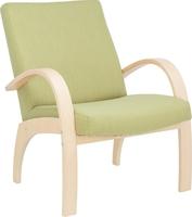 Кресло для отдыха Денди Дуб шампань, ткань Melva 33