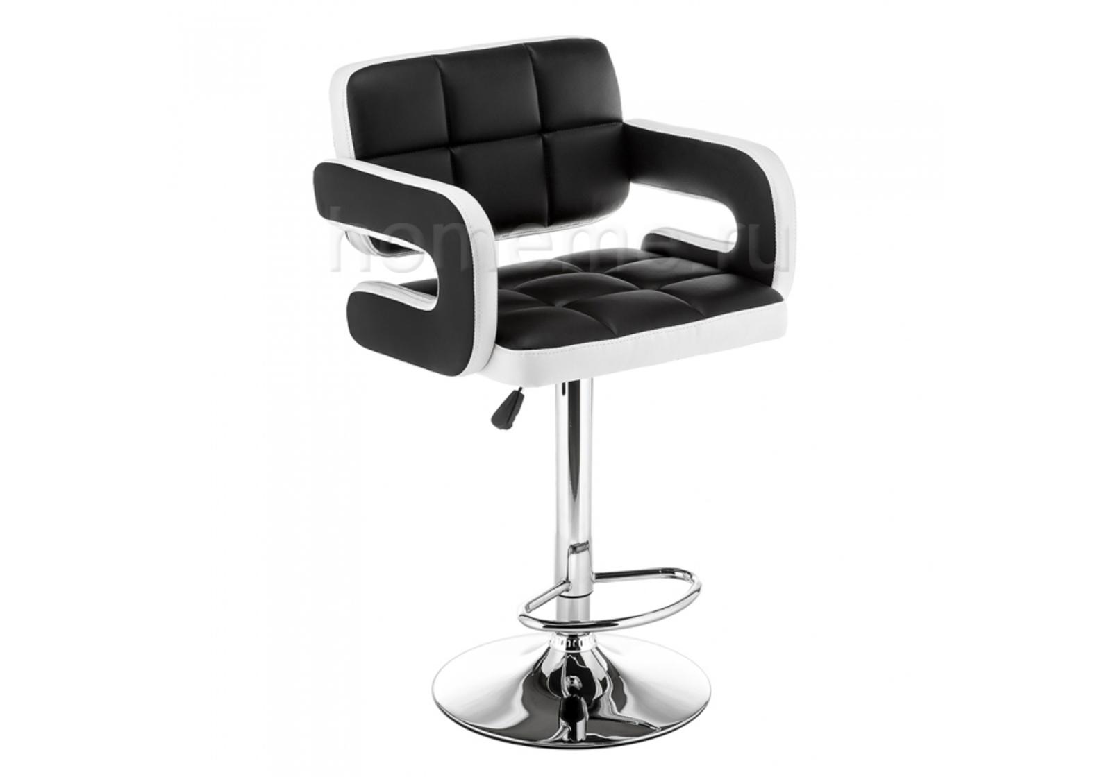Барный стул Bent черный / белый 11288 Bent черный / белый 11288 (15658)