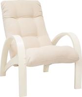 Кресло для отдыха Модель S7 Дуб шампань/шпон, ткань Verona Vanilla
